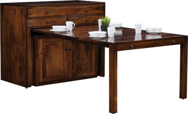 Chinaski Pullout Console Table Extended
