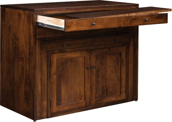 Solid Wood Pullout Table