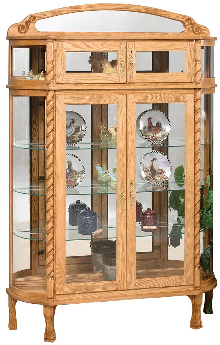 Covington Traditional Curio Cabinet