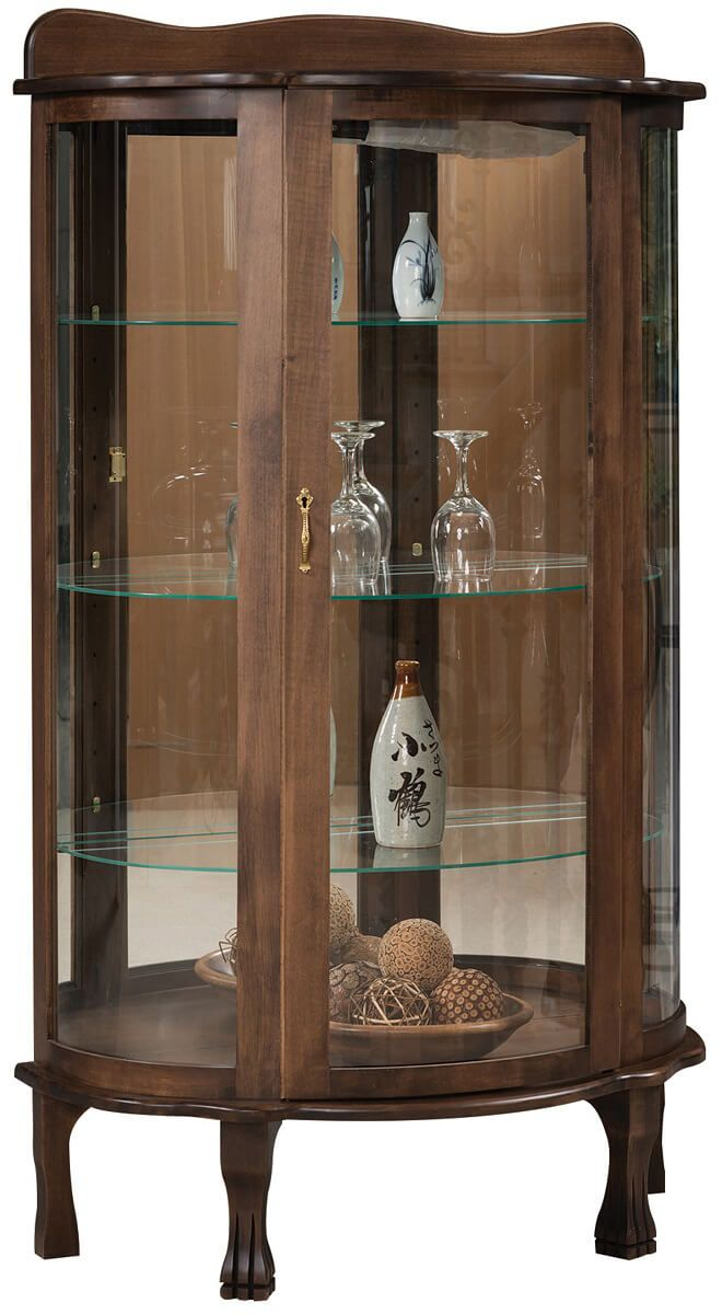 Parisian Traditional Curio Cabinet