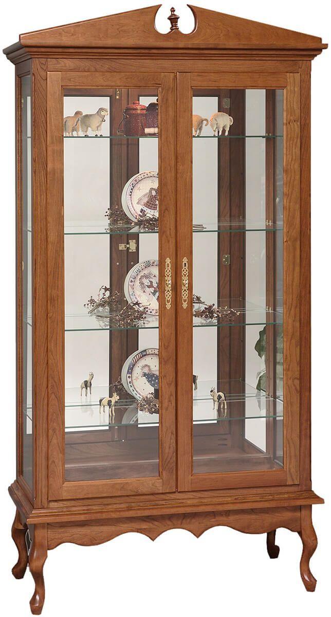 Queen Elizabeth Curio Cabinet