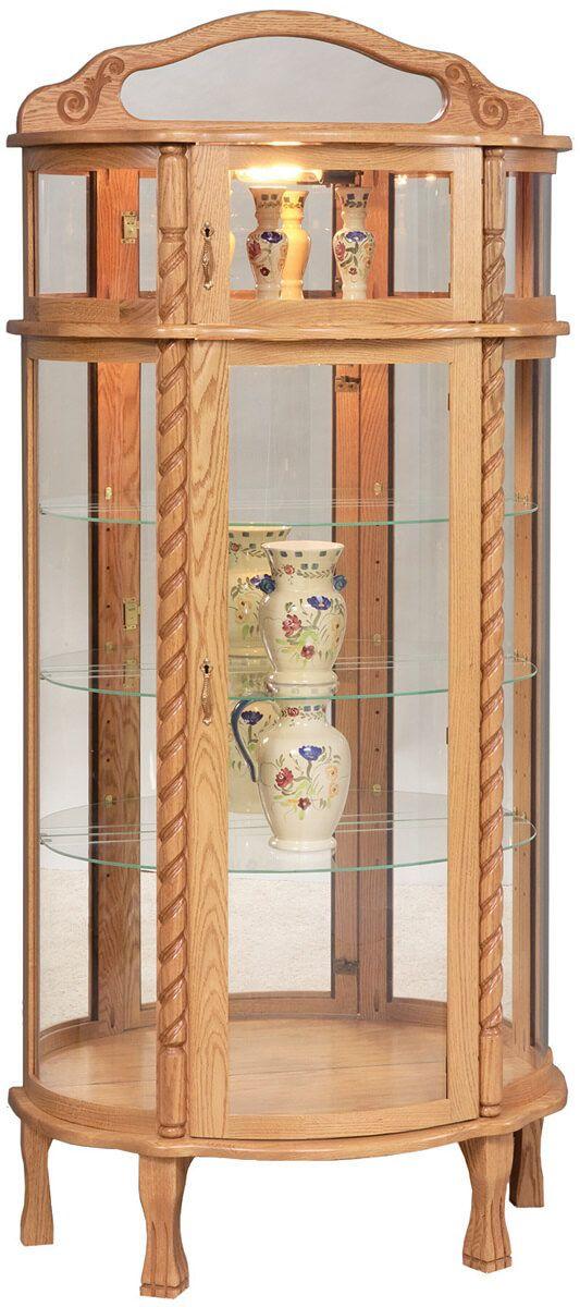 Savannah Solidwood Display Cabinet