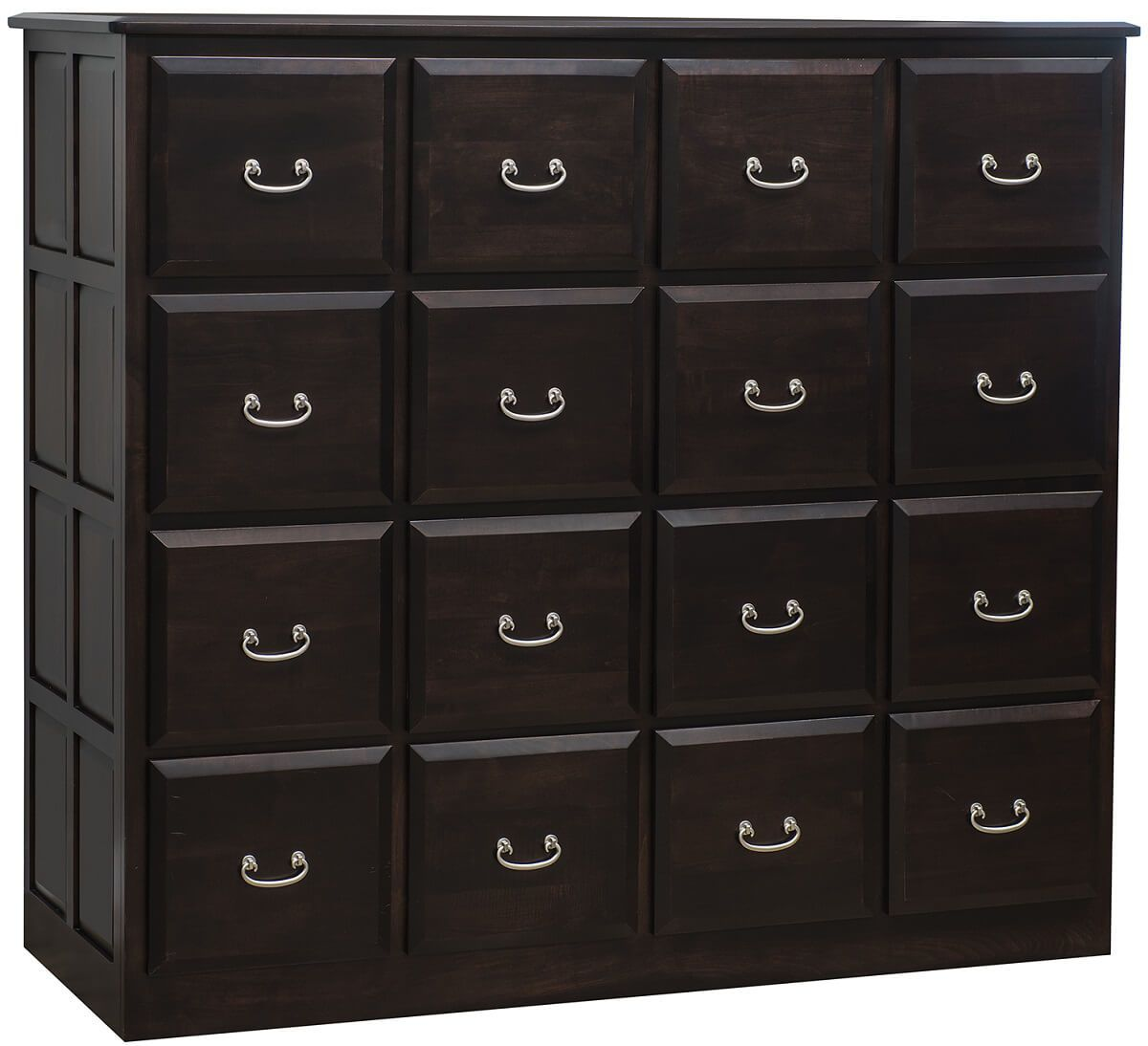 Allston 16-Drawer Amish File Cabinet