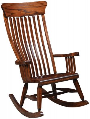image description  sc 1 st  Countryside Amish Furniture & Benson Amish Rocking Chair - Countryside Amish Furniture