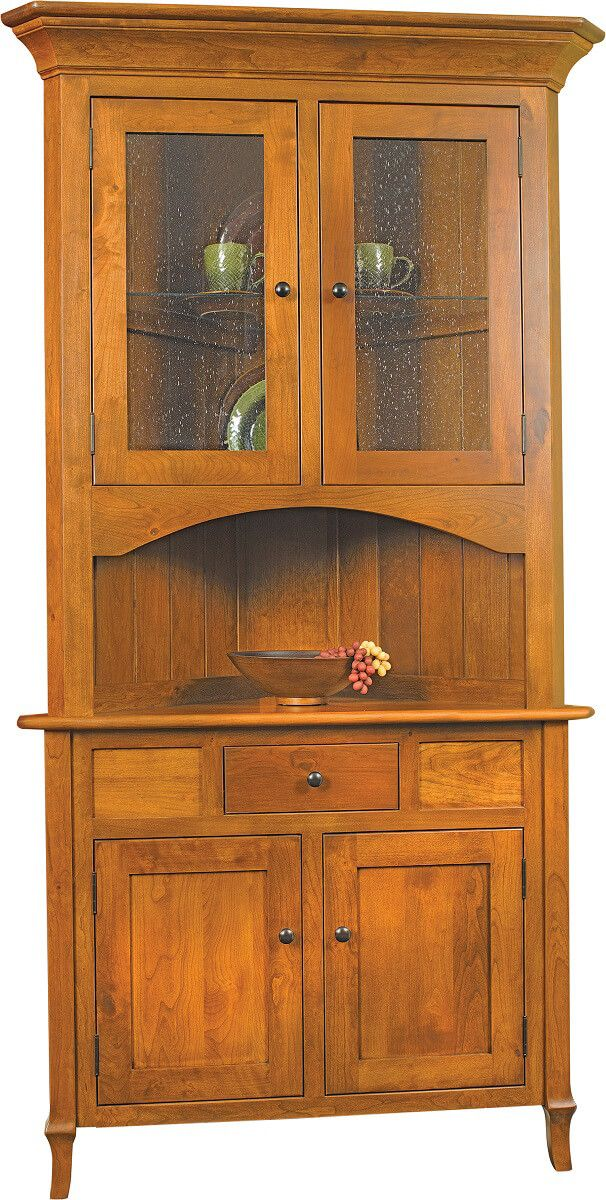 Big Valley Corner Hutch
