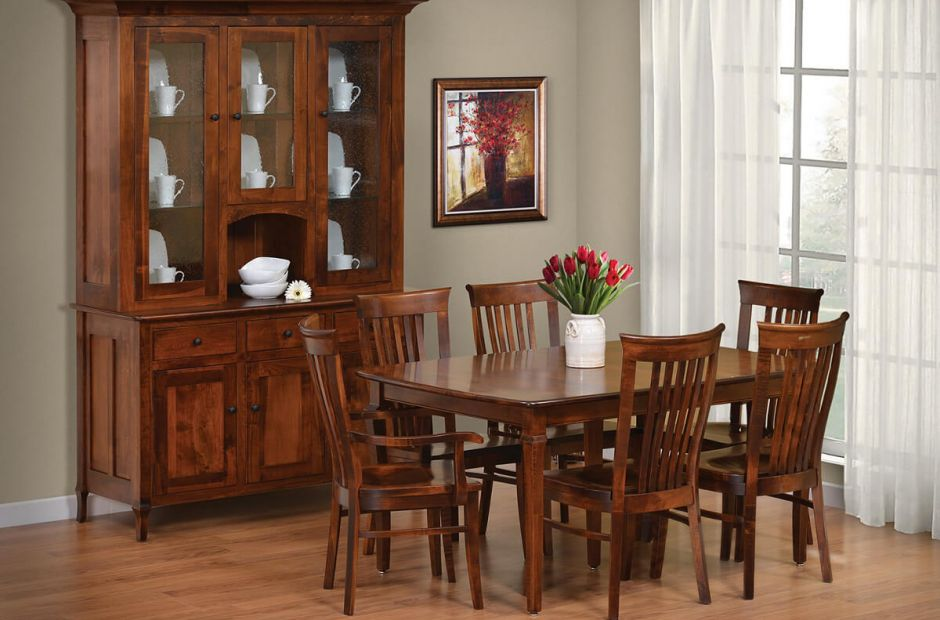 big valley hardwood dining room set countryside amish amish dining room sets pa