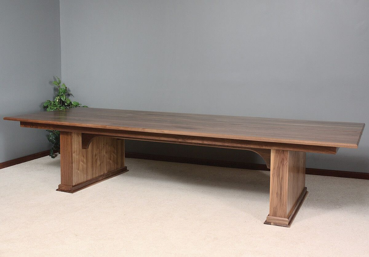 Amish made hardwood conference table
