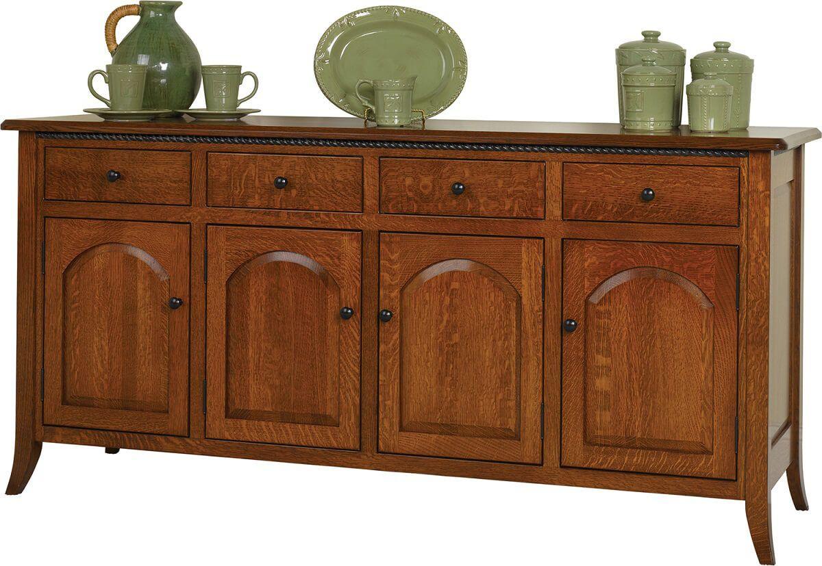 Fort Wayne 4 Door Dining Buffet Countryside Amish Furniture