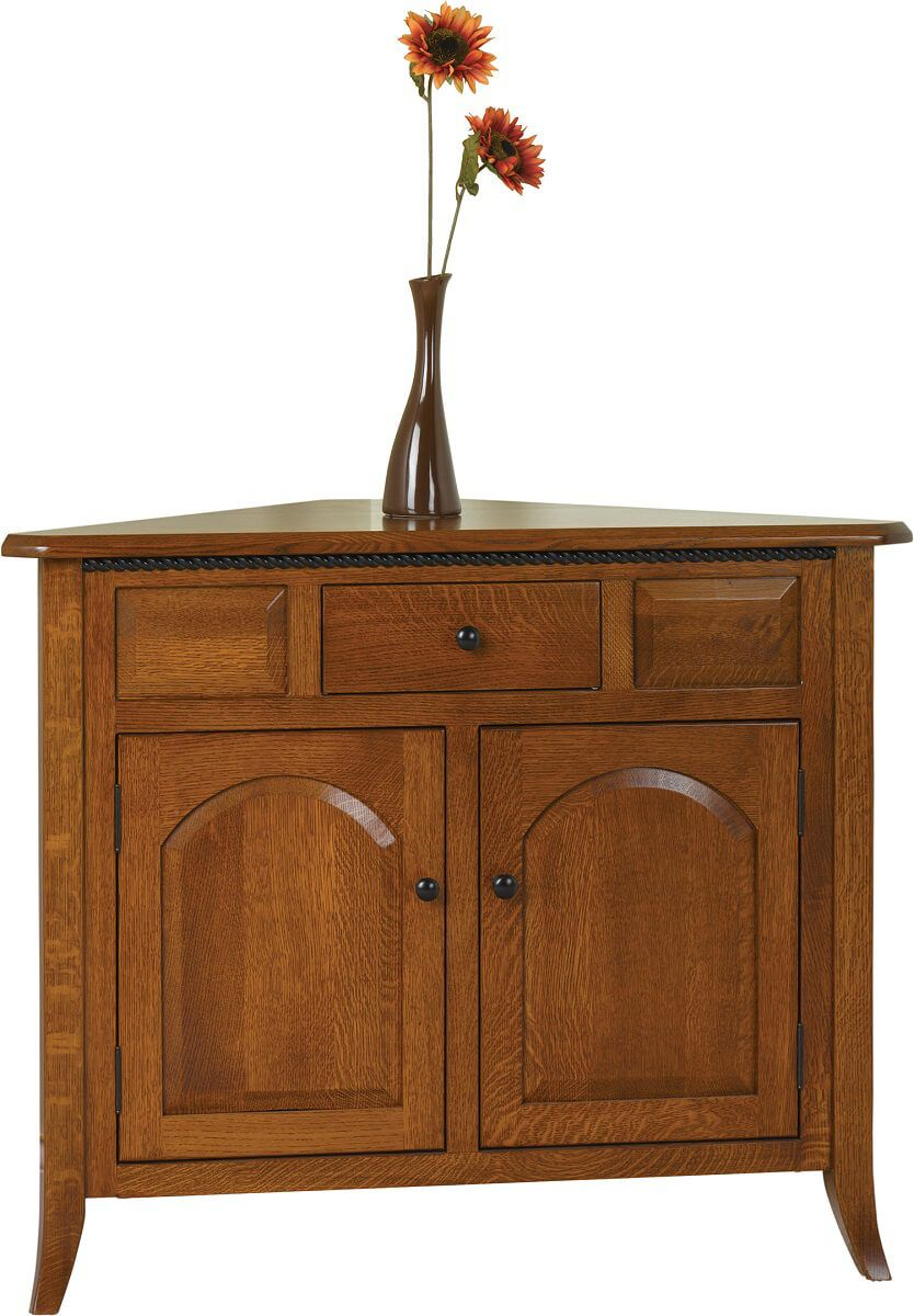 Fort Wayne Corner Buffet With Drawer