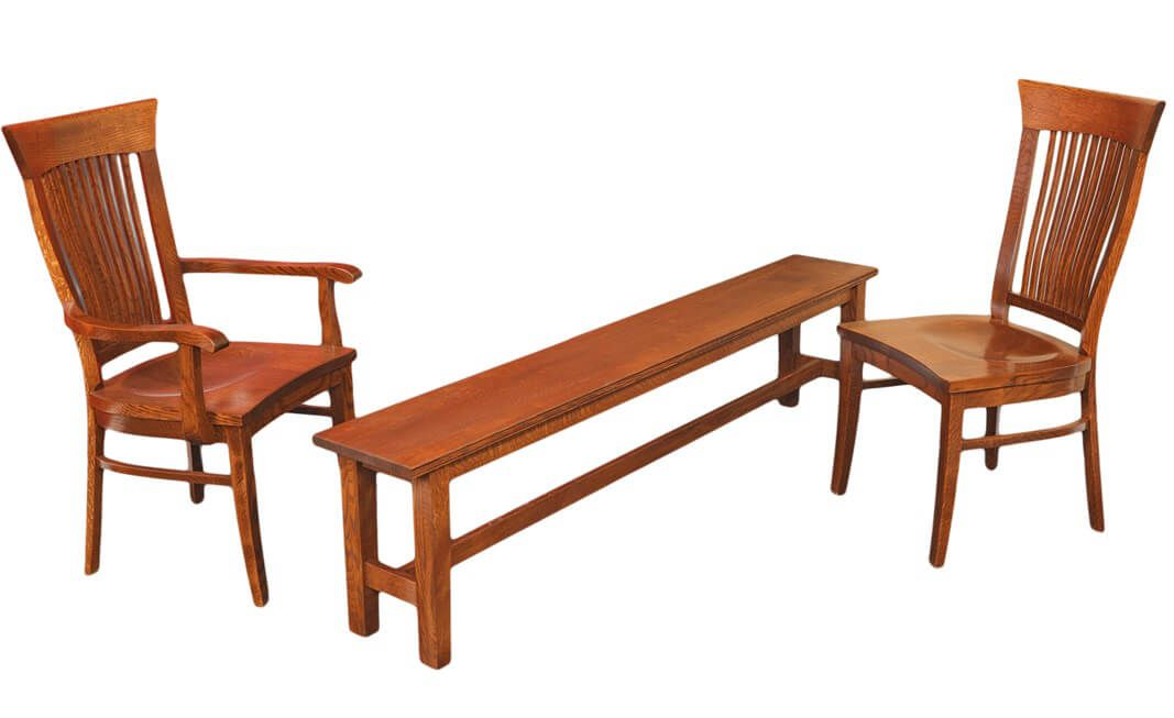 Shown with Lancaster Dining Bench
