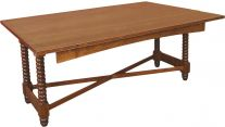 Lancaster Narrow Trestle Table
