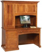 Langston Computer Desk with Hutch