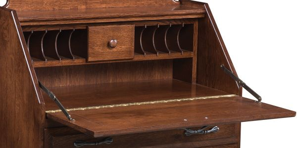 Includes drawer and mail slots