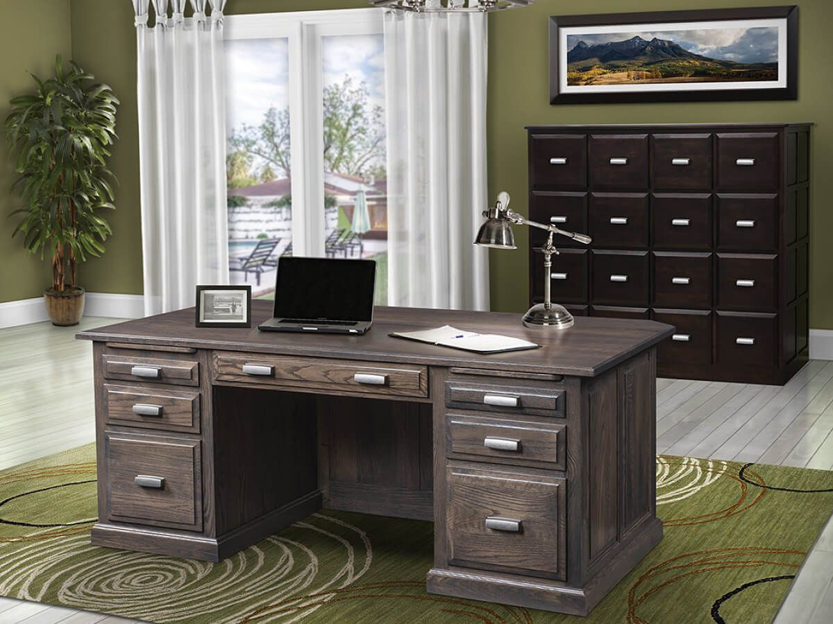Amish Made-To-Order Office Furniture