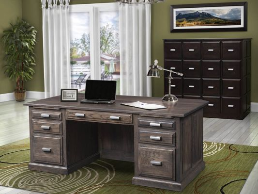 Amish Made To Order Office Furniture