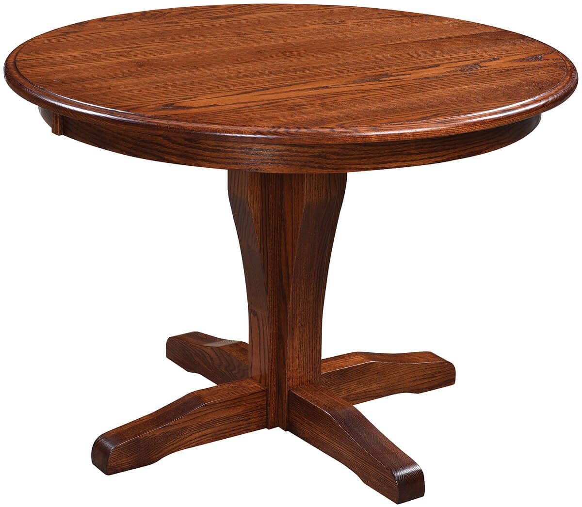 Williston Pedestal Table in Oak