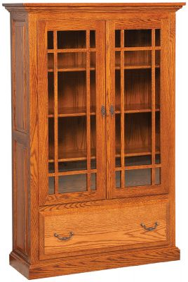 Albany glass door mission bookcase countryside amish furniture image description image description previous next albany glass door bookcase planetlyrics Choice Image