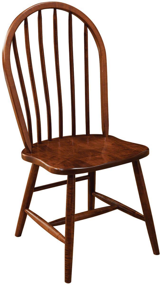 Green Bay Bent Dowel Chair Shown in Oak