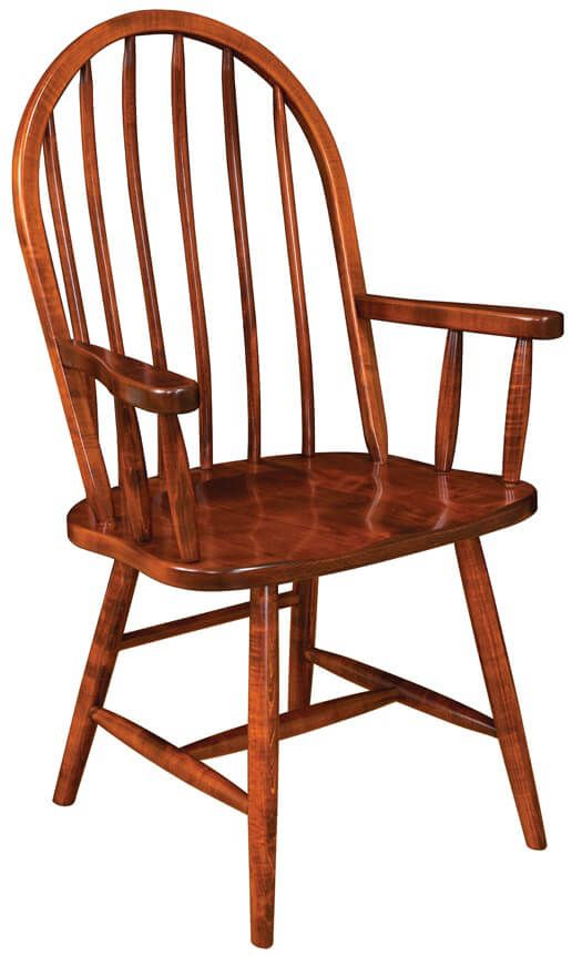 Taunton Low Back Spindle Arm Chair