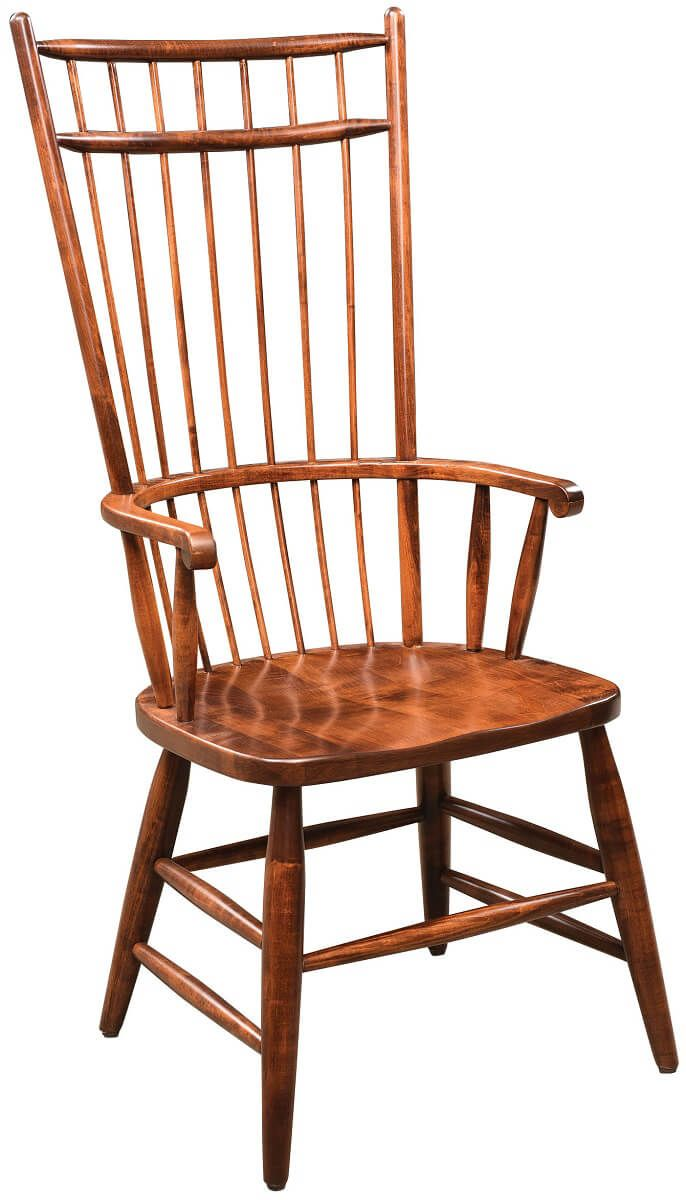 Cage Back Arm Chair