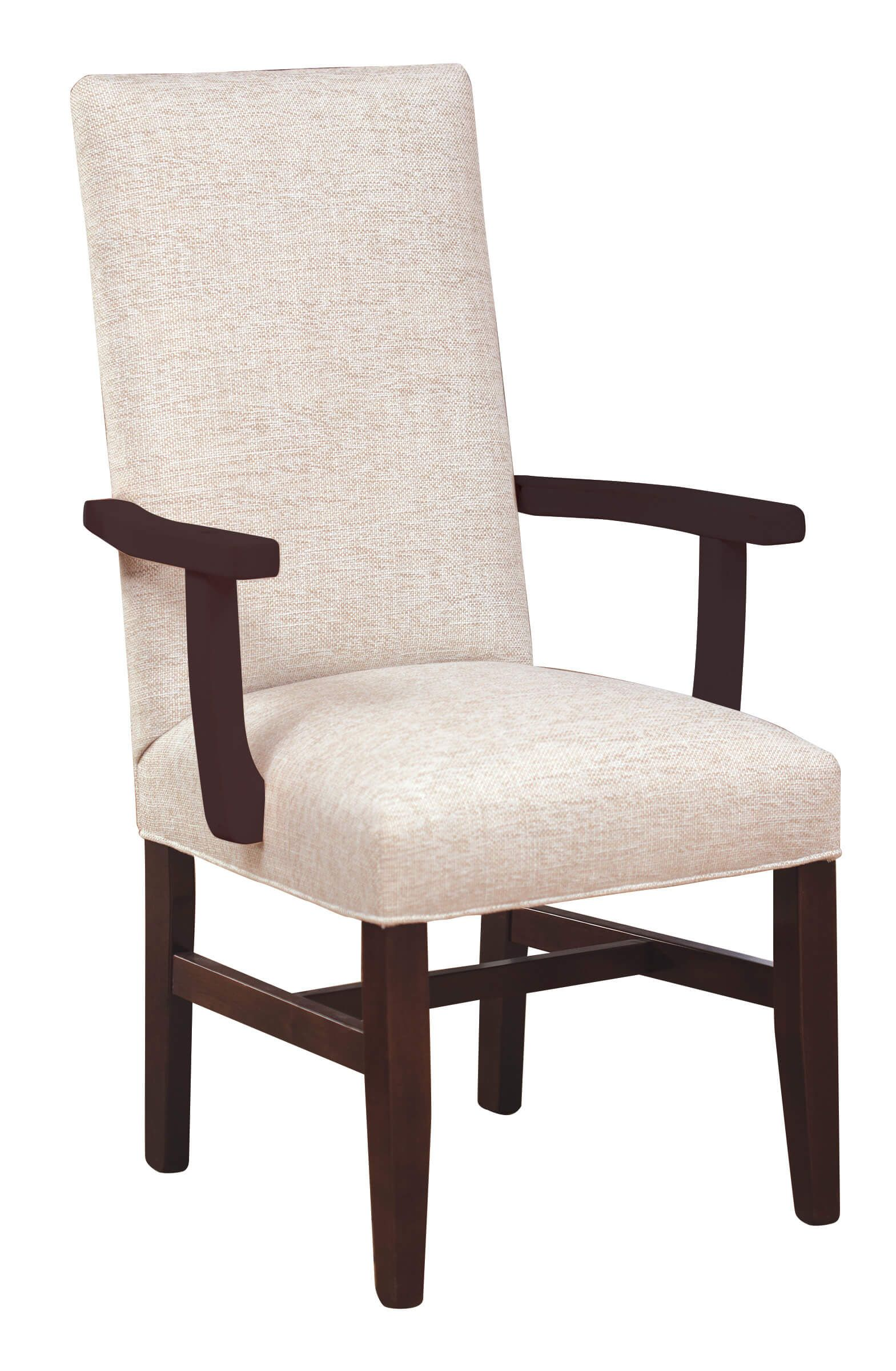 Alabaster Upholstered Arm Chair