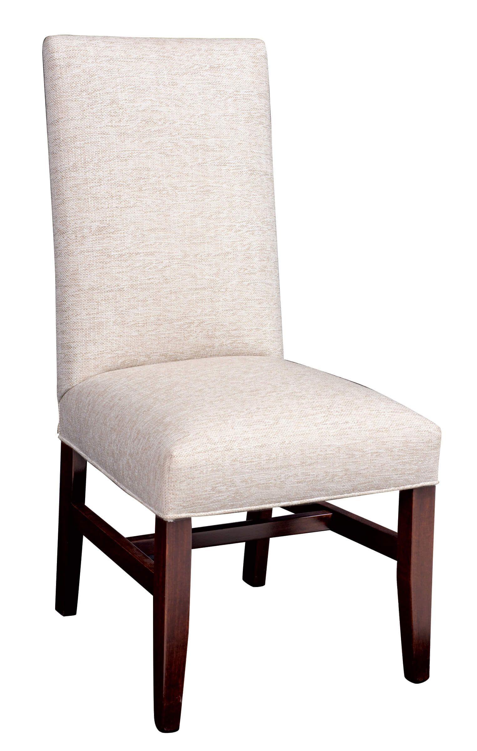 Alabaster Upholstered Side Chair