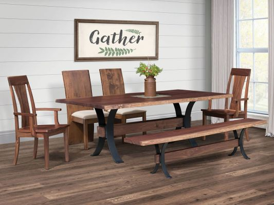 Bessemer Industrial Dining Set