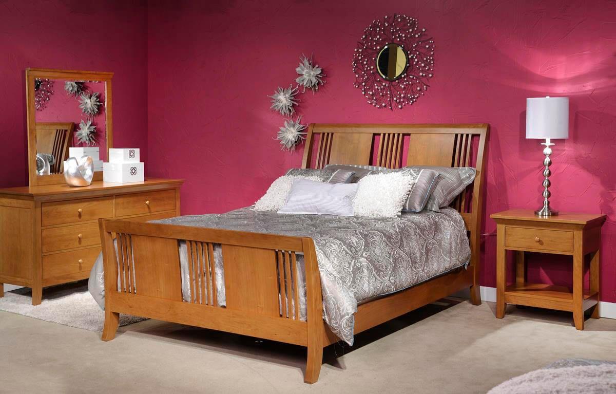 Beauford Cherry Amish Bedroom Set