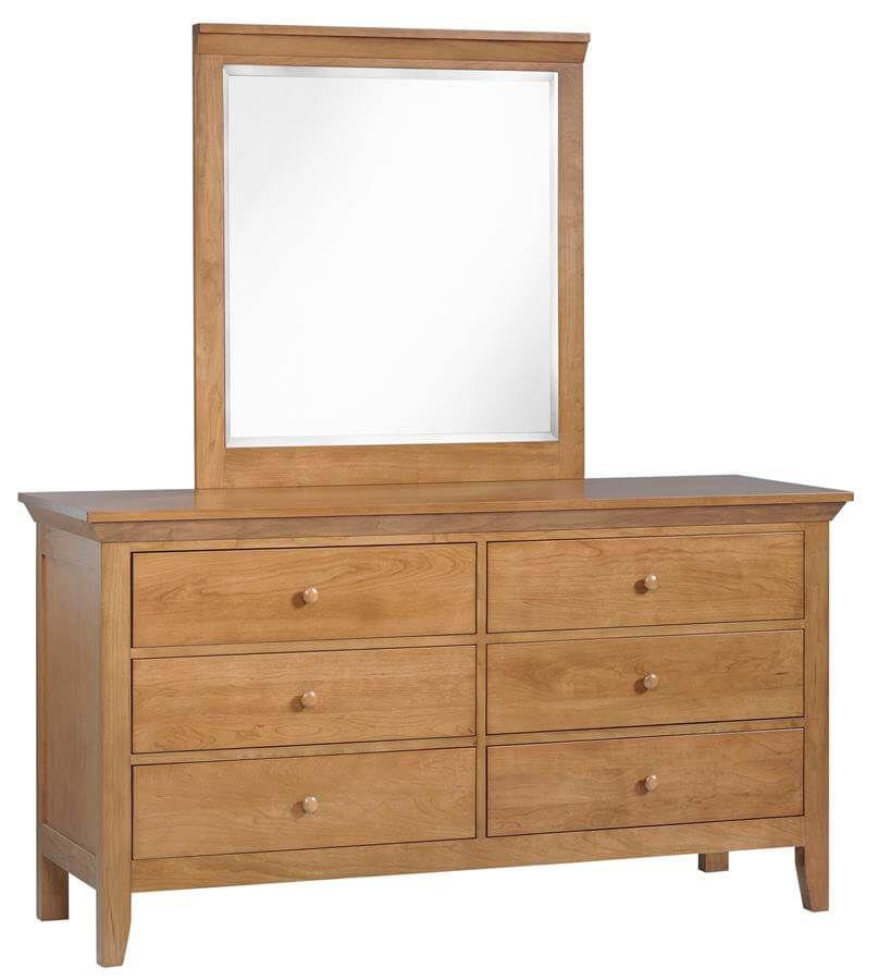 Beauford Amish Dresser with Mirror