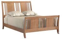 Beauford Sleigh Bed