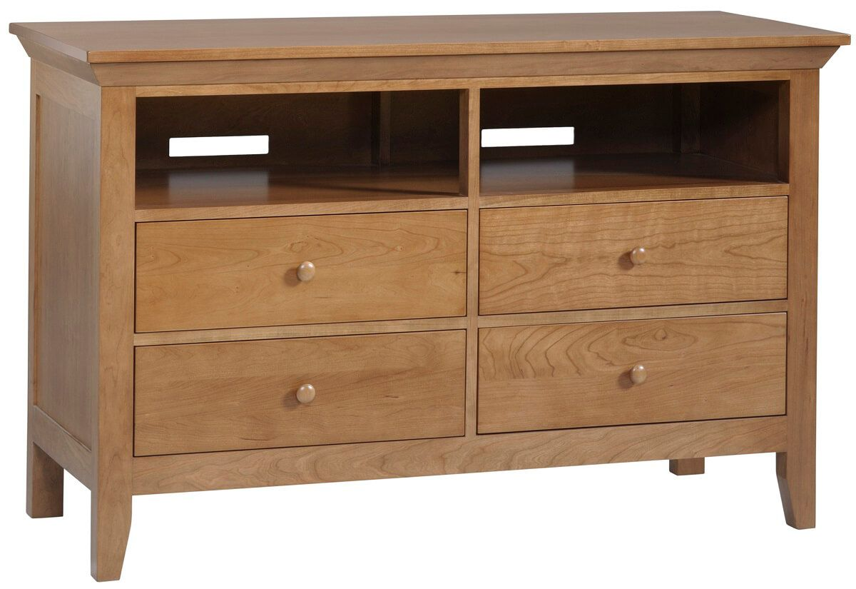 Beauford Bedroom TV Stand - Countryside Amish Furniture