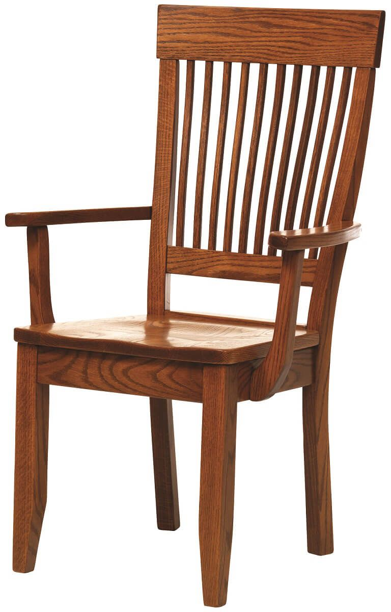 Amish Handmade Oak Chair