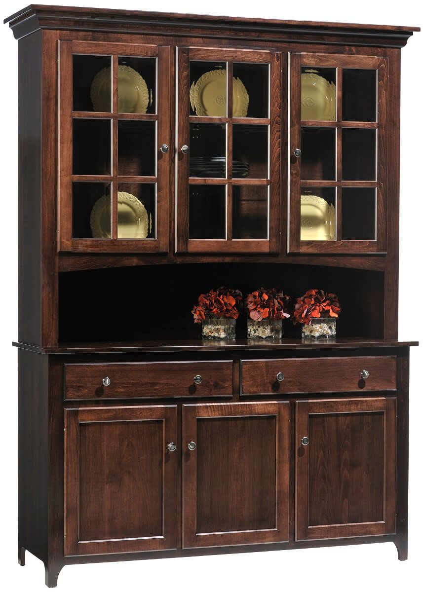 the simple beauty of a lexington shaker amish made solid wood hutch