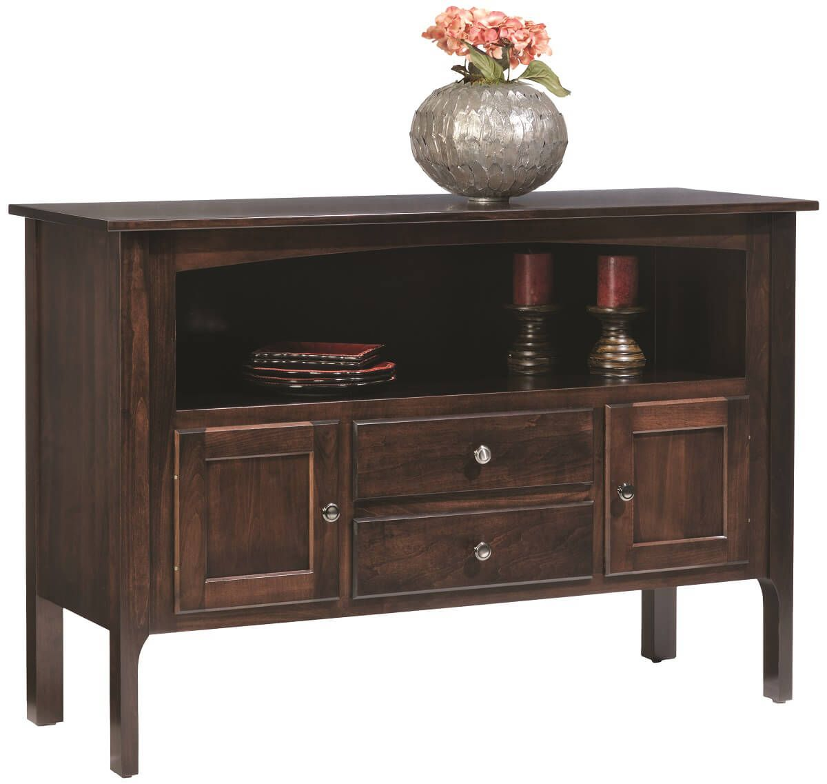 Elisee Shaker Sideboard in Brown Maple