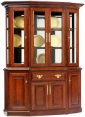Evendale Court Canted China Hutch