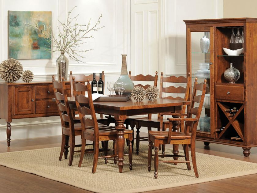 Liberty Park Amish Dining Set Countryside Amish Furniture