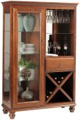 Liberty Park Wine and Stemware Storage