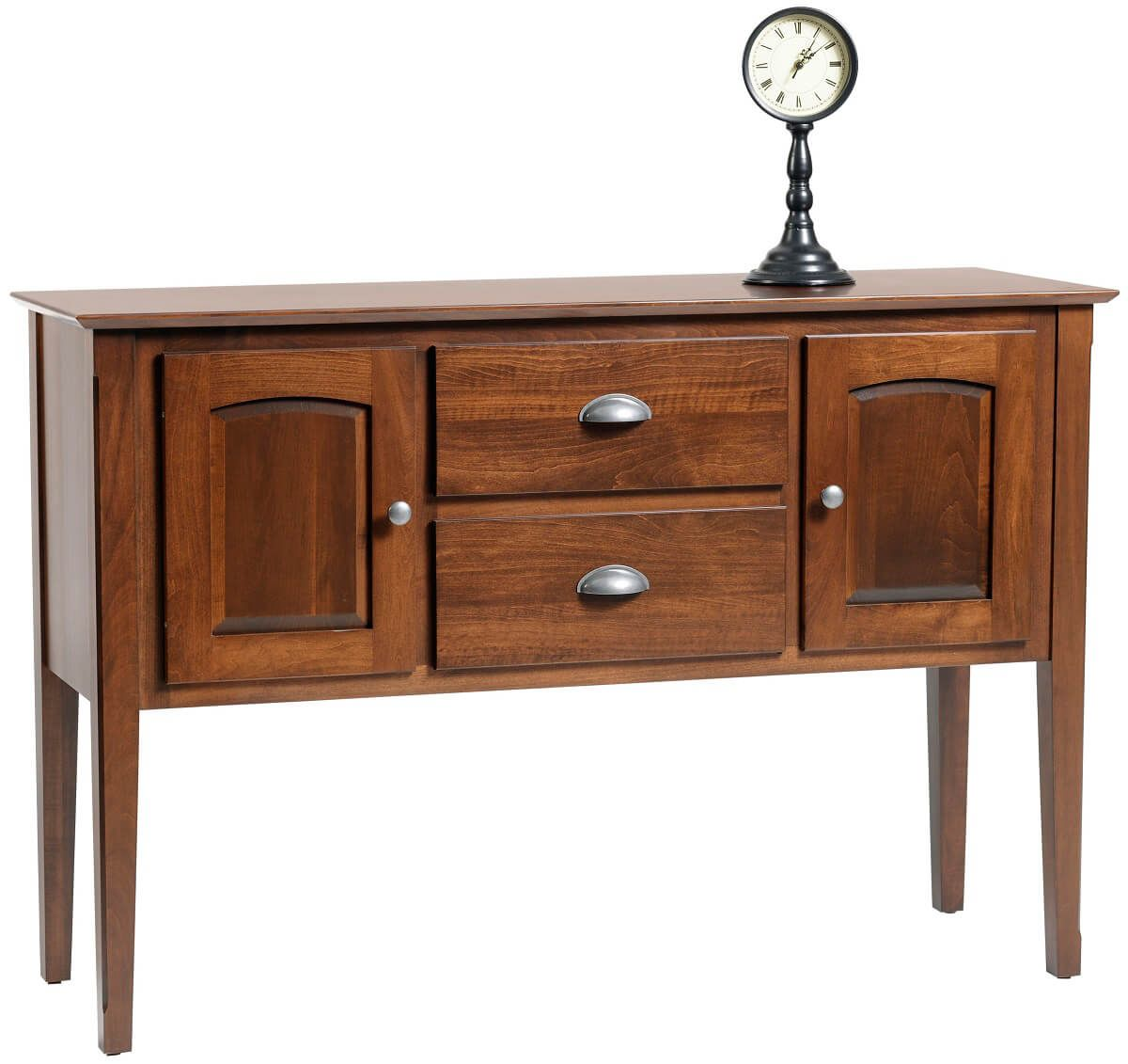 Malisa's Casual Dining Sideboard in Brown Maple