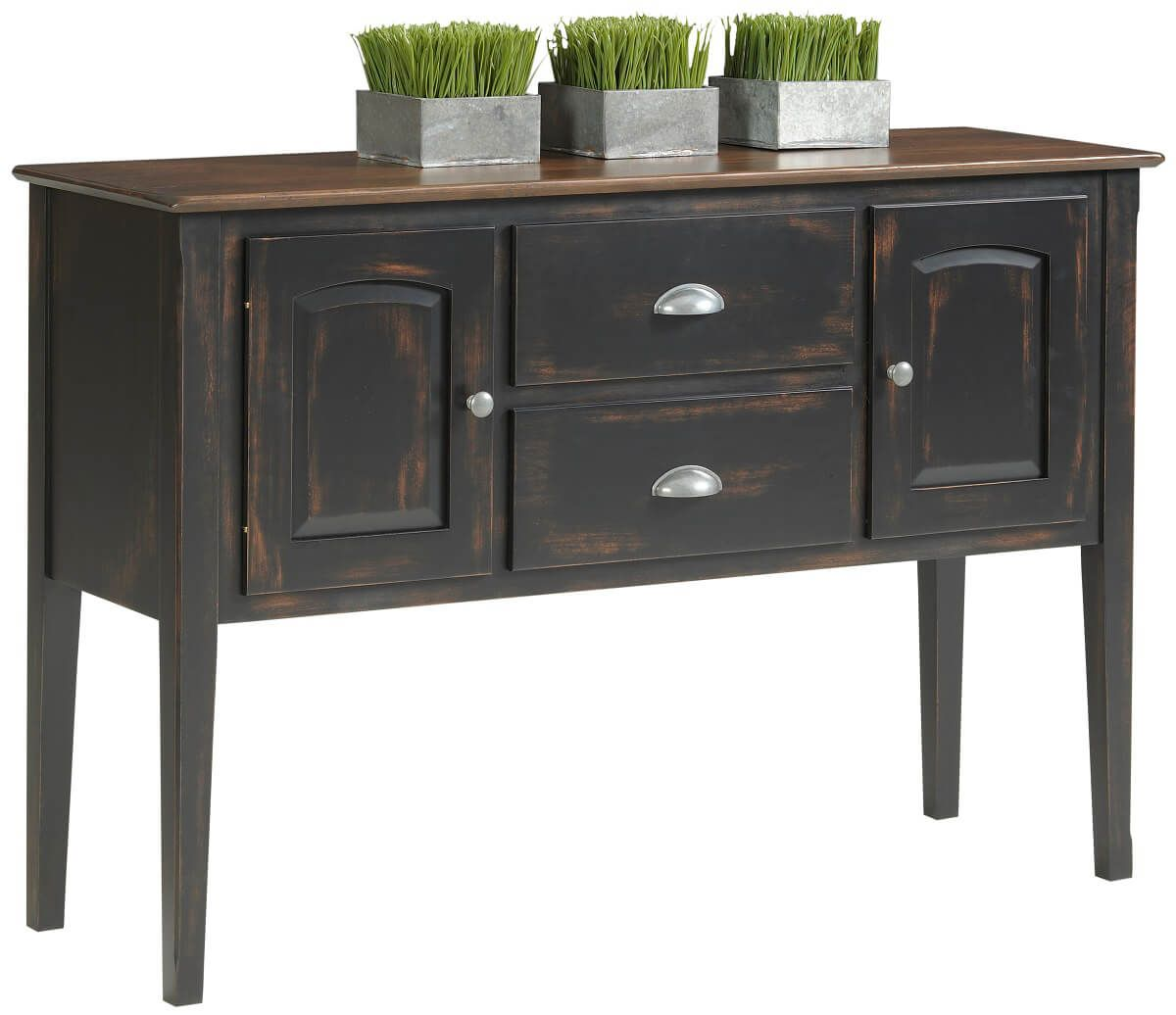 Shown with specialty painted finish