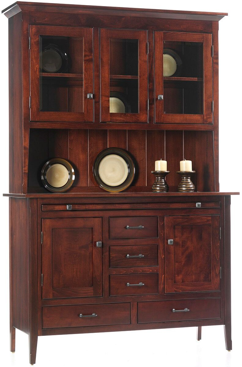 Monmouth Shaker Buffet with Hutch