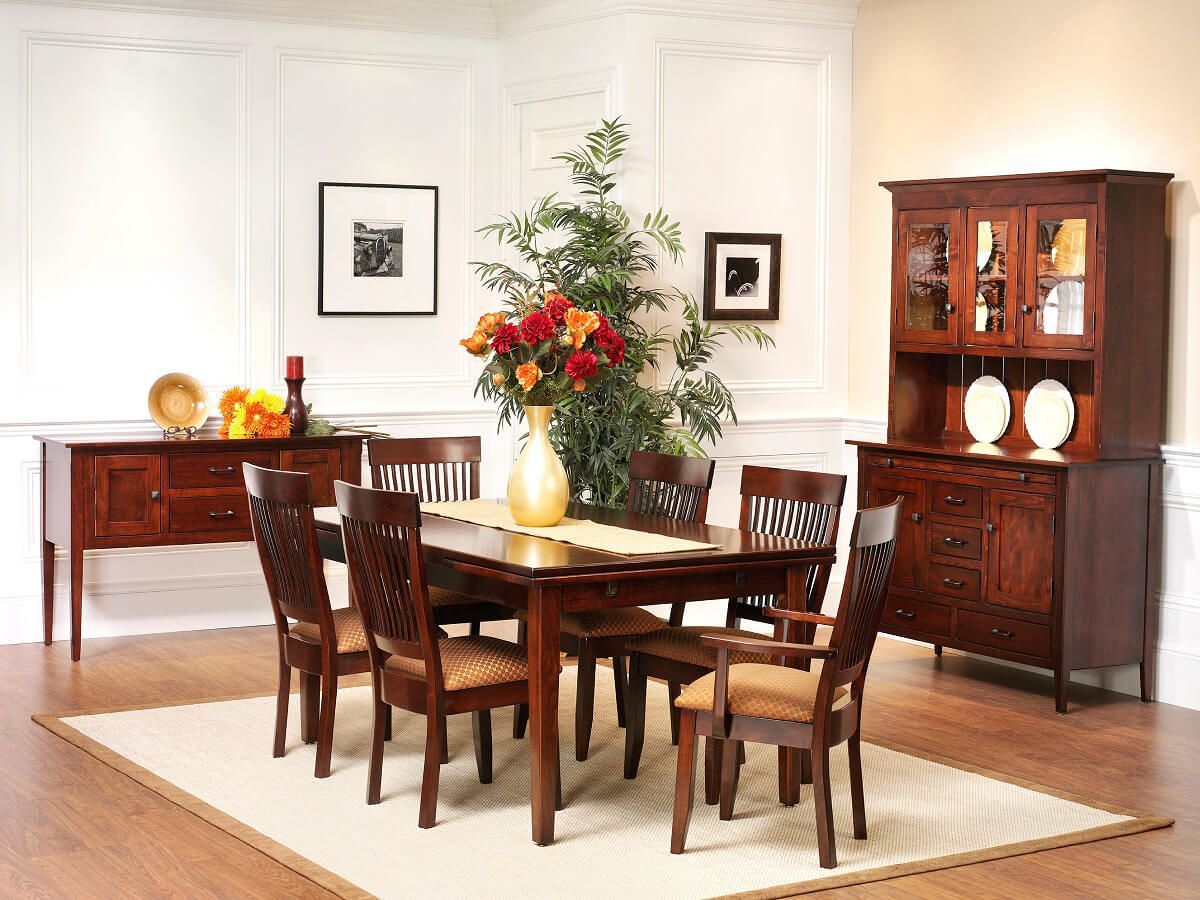Solid wood Shaker dining collection