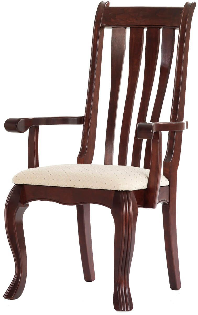 Rockingham Arm Chair in Cherry