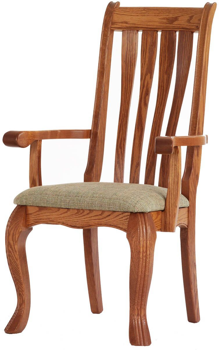 Rockingham Arm Chair in Oak