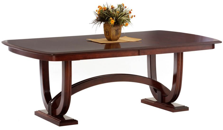 trestle amish plank table trestle tables amish dining room tables