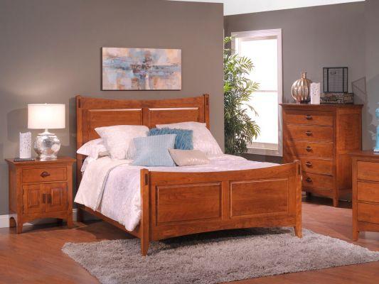 Senoia Panel Bed Countryside Amish Furniture