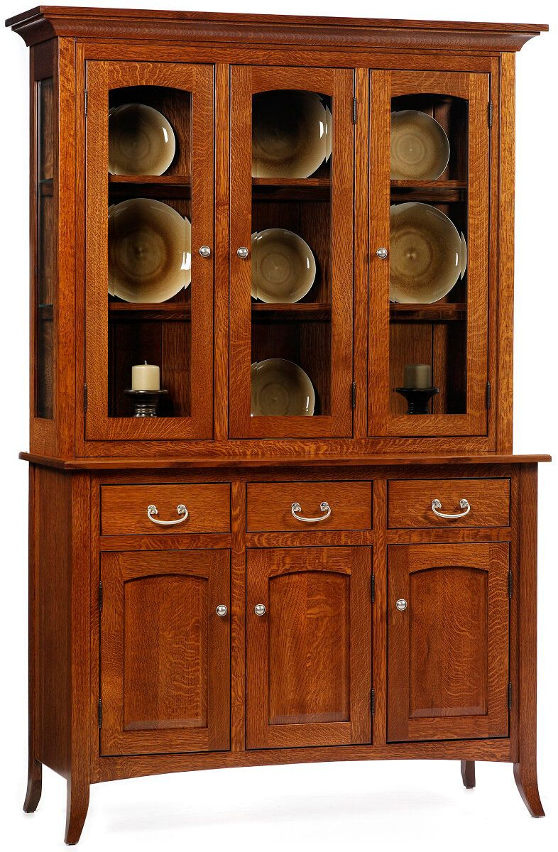 South Hooksett Closed Deck China Cabinet