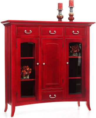South Hooksett Dutch Pantry in red painted finish