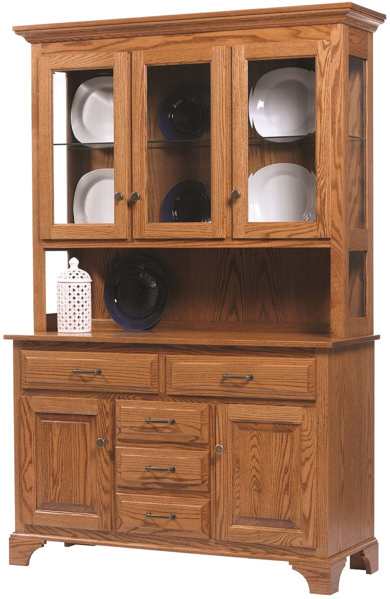 Westland China Pantry in Oak