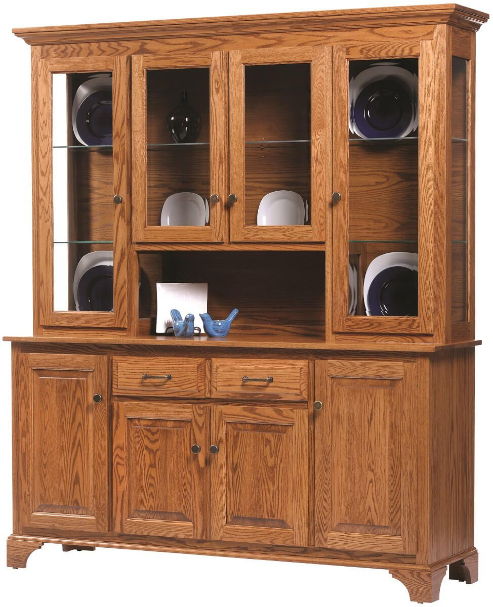 American-made Westland Large Display Cabinet