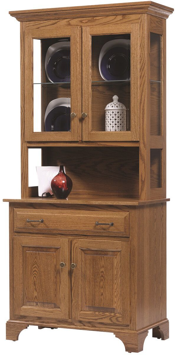 Westland Small 2-Door China Cabinet